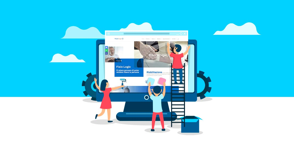 Nuovo sito dedicato alla fisioterapia e al benessere