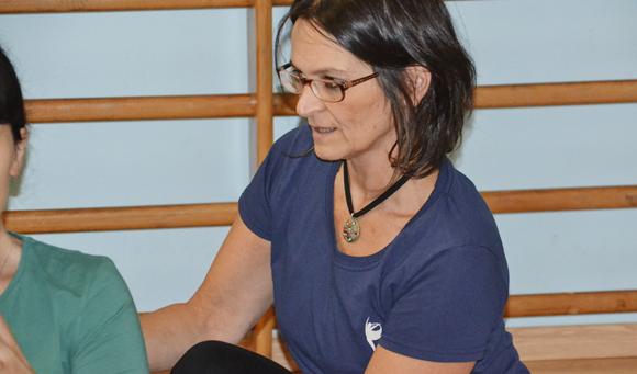 Elena Bono, insegnante di yoga