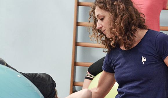 Valeria D'amico, Chinesiologa, Insegnate di Pilates